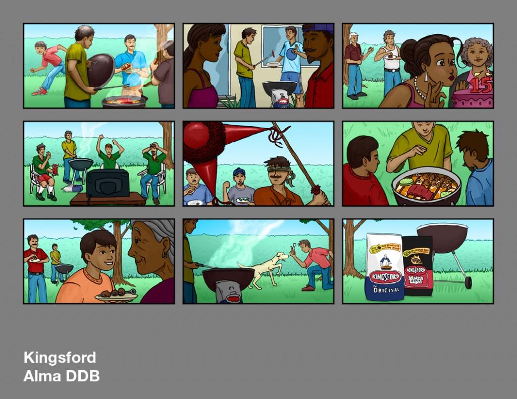 Storyboards Alma DDB