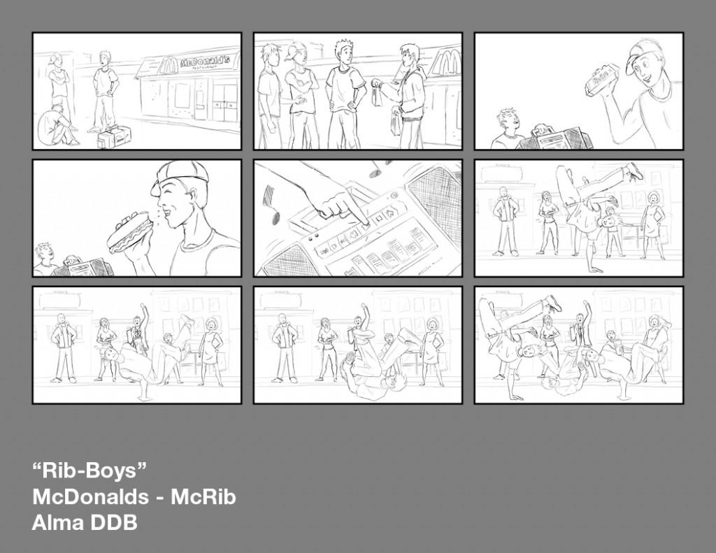 Storyboards Alma DDB3