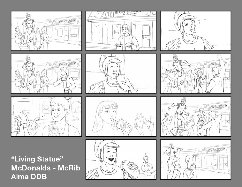Storyboards Alma DDB4