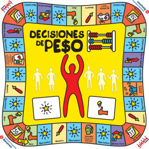 Game Board for Decisiones de Pe$o